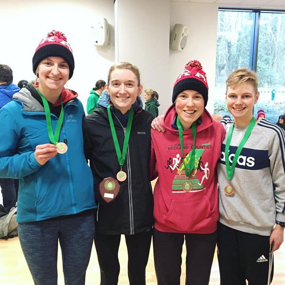 XC Medal winners