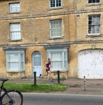 Running through picturesque villages